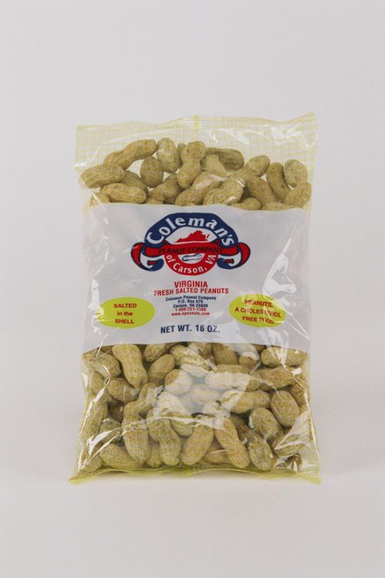 1 lb Bag No Salt in the Shell Peanuts